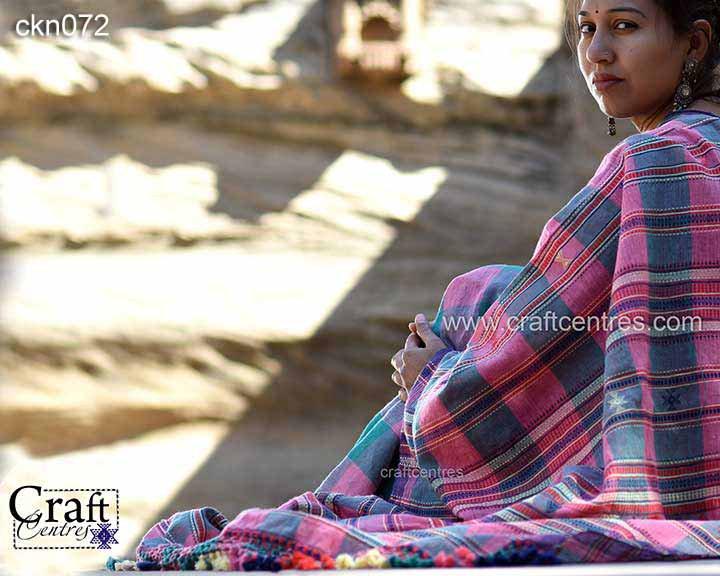 natural dyes kala cotton saree