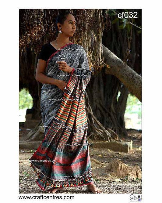 bhujodi fine cotton saree
