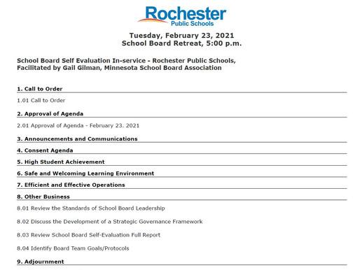 2/13 School Board Meeting Preview