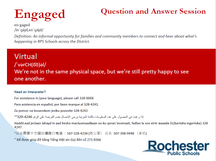 10/22 Family Engagement Q&A