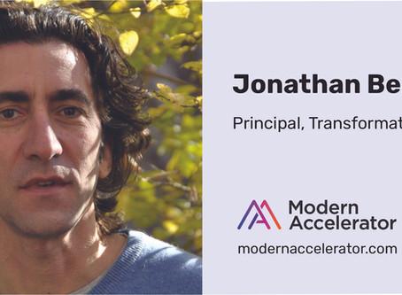 Jonathan Bertfield joins Modern as Transformation Practice Leader