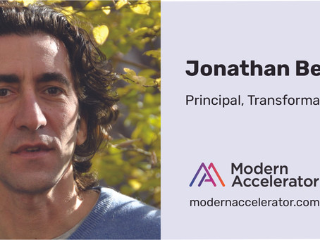 Jonathan Bertfield joins Modern as Transformation Practice Leader