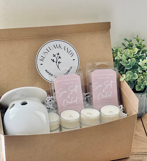 Wax Melt and Tea Light Gift Box