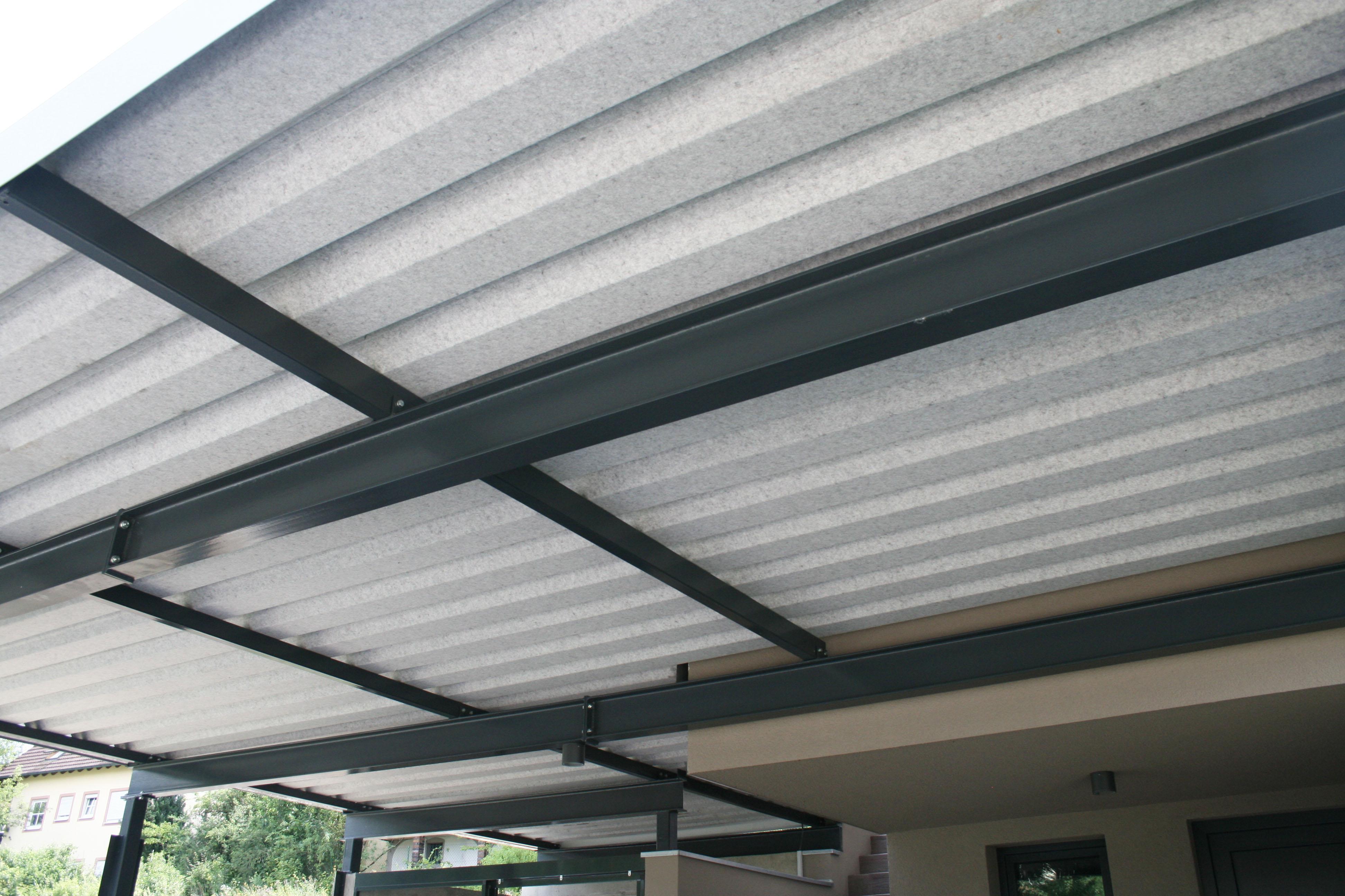 Dachunterseite mit Antikondensvlies