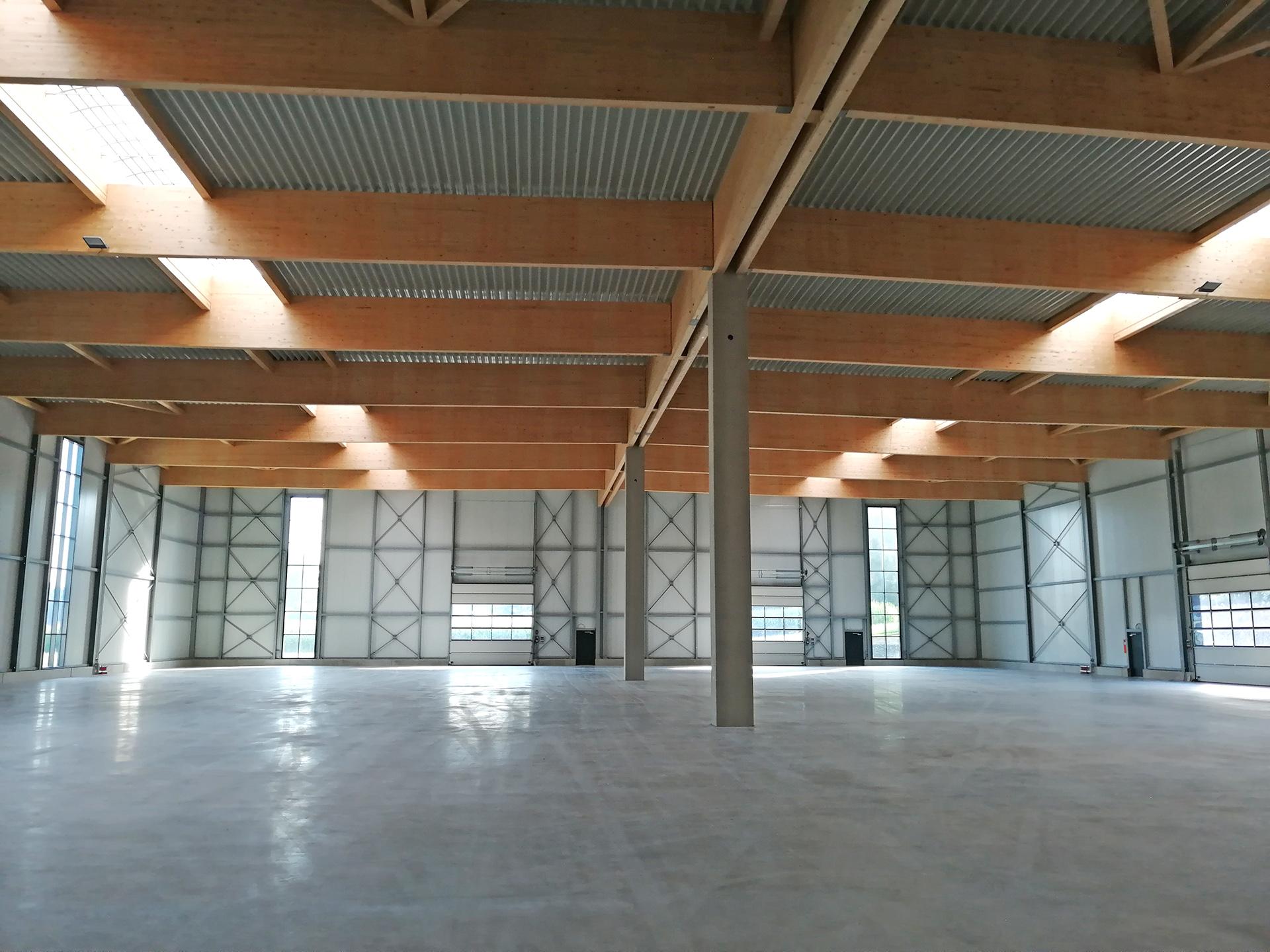 Logistikhalle Fläche 6300 m2
