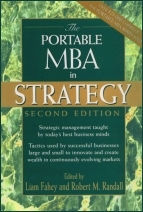 Book cover of The Portable MBA In Strategy written by Liam Fahey and Robert M Randall