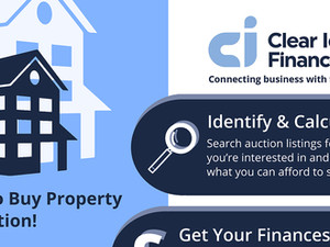 Property Auction Finance Infographics