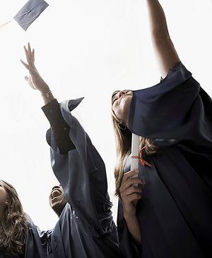 Business school MBA graduation