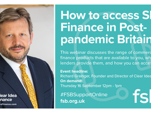 Save the Date: How to Access SME Finance in Post-Pandemic Britain