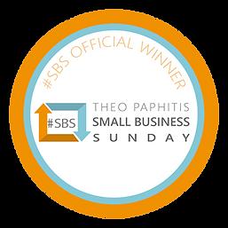 Small Business Sunday winners logo