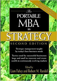 The Portable MBA in Strategy Hardcover – November 16, 2000