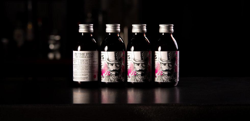Smith's Pink Pornstar Martini cocktails