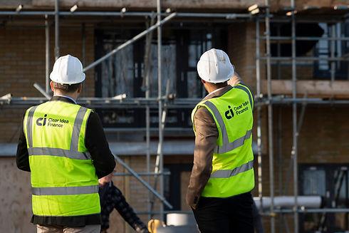 Clear Idea Finance brokers assessing a property development application