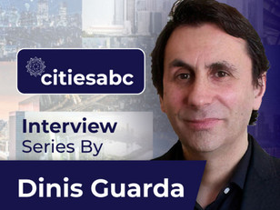 Interview with Dinis Guarda for citiesabc Podcast