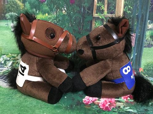 【アイドルホース】競走馬ぬいぐるみに着せるタキシードとドレスセット