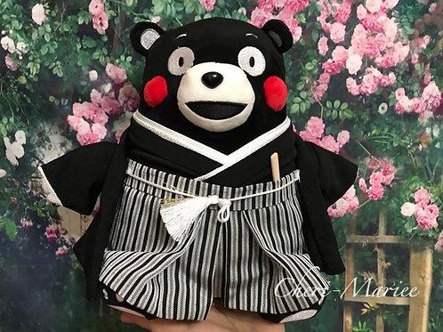 おまかせオーダー紋付袴姿(体長20から30cm前後のぬいぐるみ用)