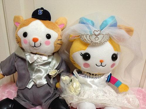 【横浜DeNAベイスターズ】スターマン(M)とキララ(M)に着せられる衣装セット