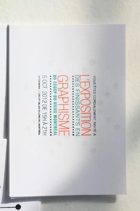 Carton invitation | 2013