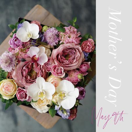今年は家族で楽しむ「Mother's day」!