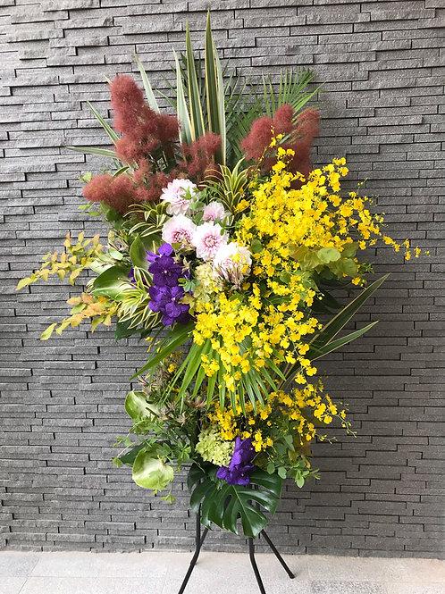 【お祝いに】スタンド装花/2段タイプ