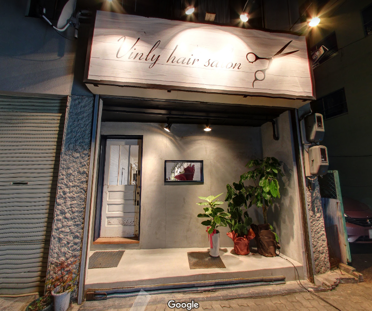 Vinly hair salon 外観