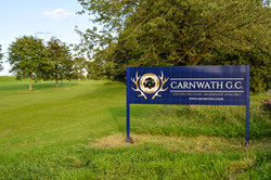 Carnwath Welcome sign