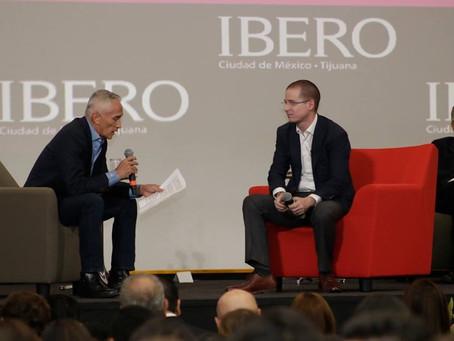 Estas son las preguntas que Jorge Ramos le hizo a Anaya en la Ibero
