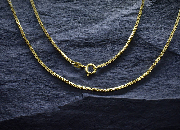 Extra lange Venezianerkette 333er Gold, 70,0 cm