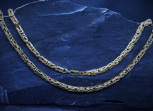 Königskette 585er Gold, 56,0 cm