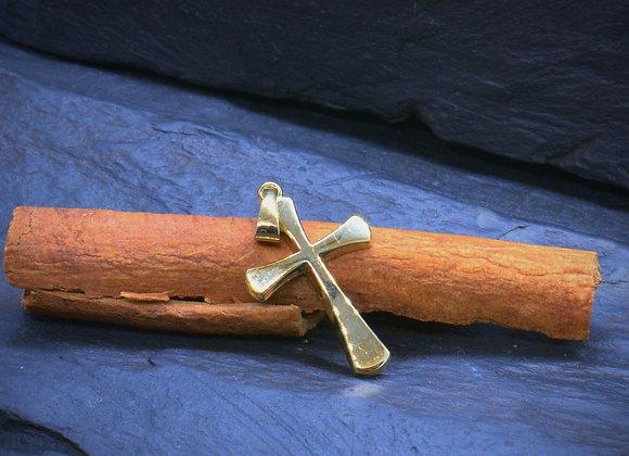 """Kreuzanhänger """"Kruzifix"""" 585er Gold"""