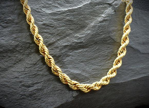 Kordelkette 585er Gold, 47,5 cm