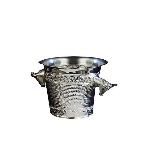 SILVER PLATED CHAMPAIGNE BUCKET