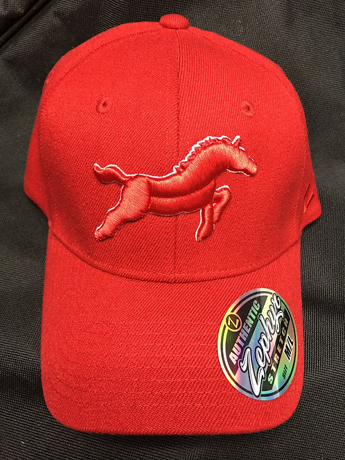 All Red Mustangs Hat