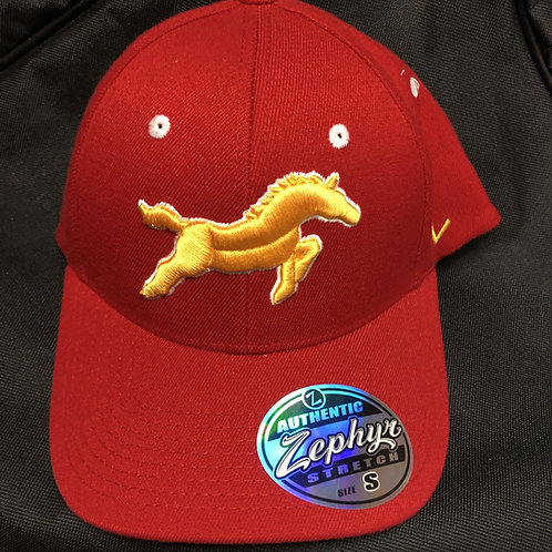 Red and Gold Hat