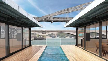 Bientôt un hôtel flottant sur la Seine