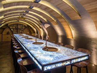 Opening Les Caves du Louvre in Paris...
