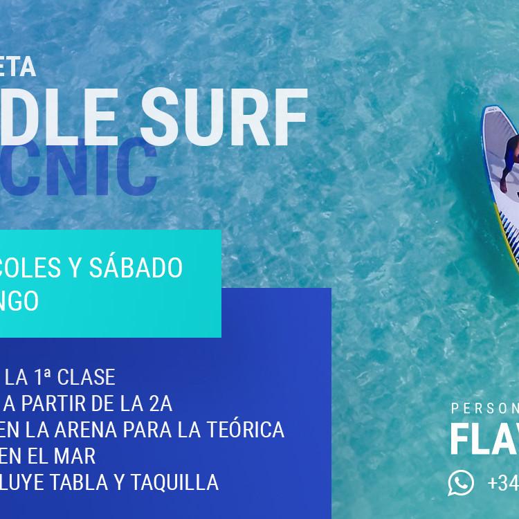 Paddle surf & picnic