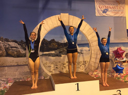First Place on Beam