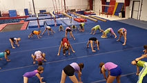 summer camp, gymnastics,