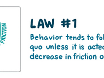 The 3 laws of human behaviour, #1