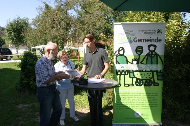Bgm. Joachim Schnabel eröffnet den Ideentag