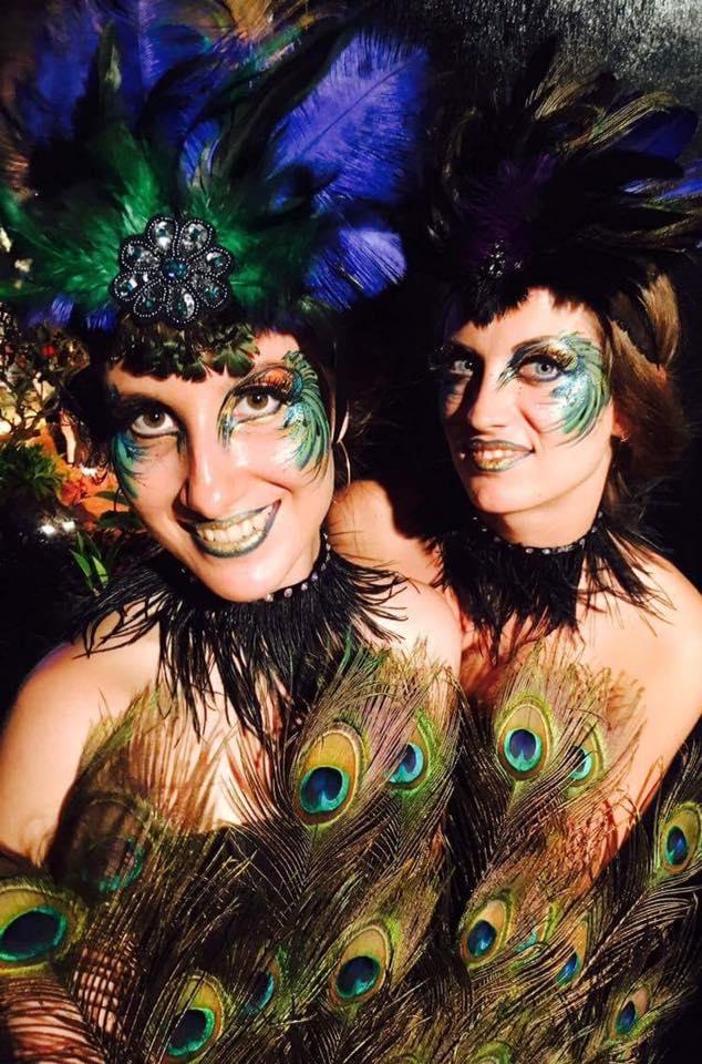 Peacock Performers