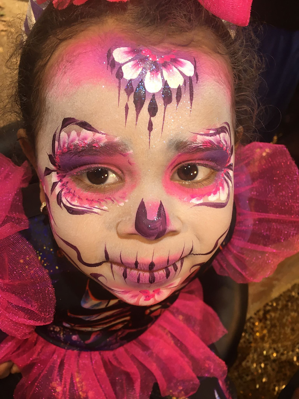 Sugar skull face paint