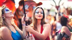 Festival Beauties Face Paint