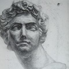 Gypsum drawing
