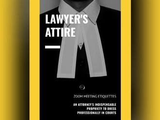 Lawyers Attire: Zoom meeting etiquette