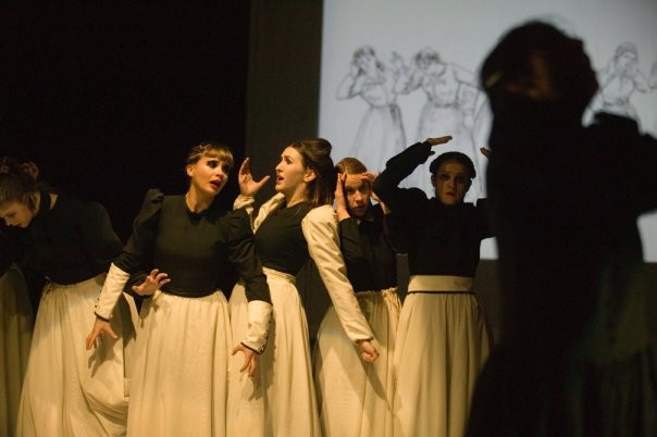 Some Historic, Some Hysteric, by Ildiko Nemeth, New Stage Theatre Co.  Photo by Markus Hirnigel