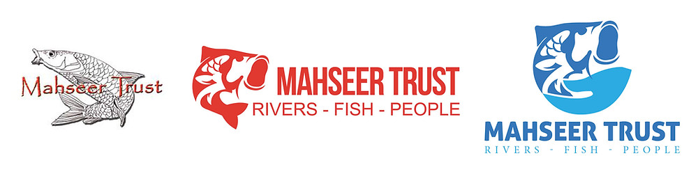 three logos for Mahseer Trust