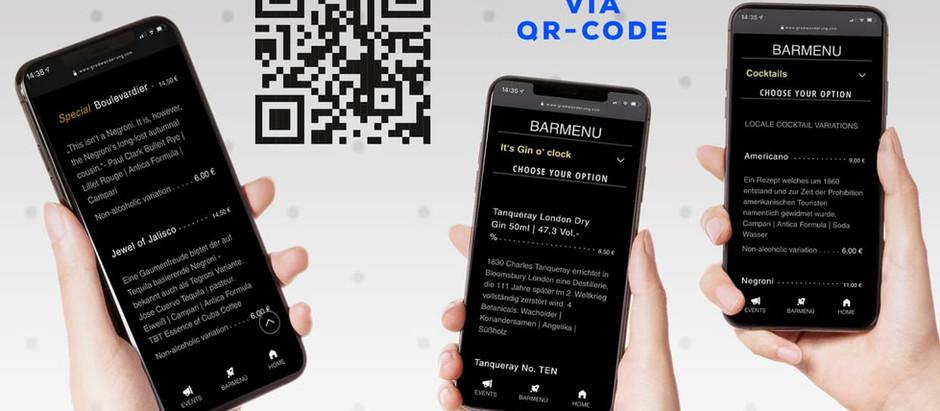 Unsere Online-Barkarte im Angebot für Euch