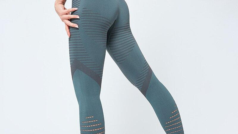 SALSPOR Yoga-Leggings mit hoher Taille